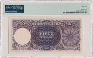 China, 50 Yuan 1944 - SPECIMEN - A/Y 000000