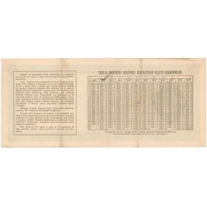 Bilet Skarbowy, Serja III - 100.000 mkp 1922
