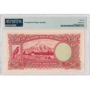 New Zealand, 50 Pounds (1940-55) - SPECIMEN