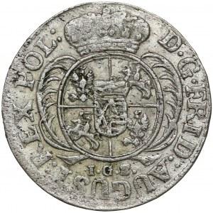 August II Mocny, 1/24 talara 1731 IGS, Drezno