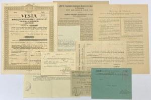 VESTA Tow. Wzajemnych Ubezpieczeń od Ognia i Gradobicia, 9.400 zł i dokumenty
