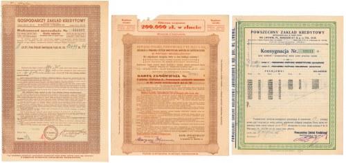 Zamówienie na pożyczki, Bank Spółdzielczy (3szt)