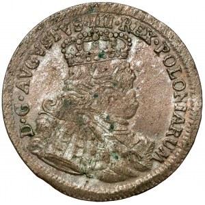 August III Sas, Szóstak Lipsk 1754 EC