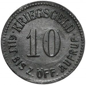 Glatz (Kłodzko), 10 fenigów