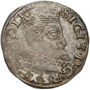 Zygmunt III Waza, Trojak Wschowa 1598 - litery HR-K