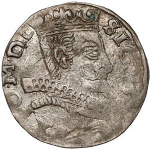 Zygmunt III Waza, Trojak Wschowa 1598 - litery HR-K - inne pop.
