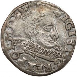 Zygmunt III Waza, Trojak Wschowa 1598 - litery HR-K - POL