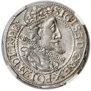Zygmunt III Waza, Ort Gdańsk 1614 - duże cyfry