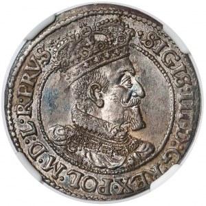 Zygmunt III Waza, Ort Gdańsk 1618 - menniczy