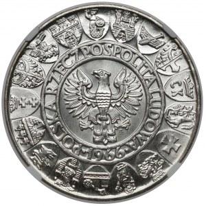 Próba SREBRO 100 złotych 1966 Mieszko i Dąbrówka