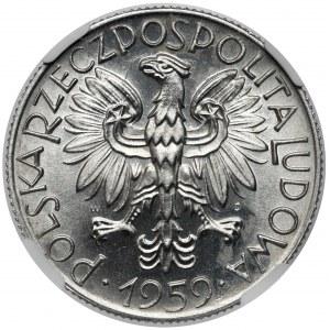 5 złotych 1959 Rybak