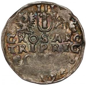 Zygmunt III Waza, Trojak Wschowa 1598 - POLO:98 - rzadki