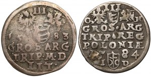 Trojaki Stefana Batorego - zestaw (2szt)