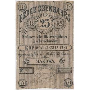 Maków, Bereg Grynbareg, 25 kopiejek 1862