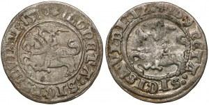 Półgrosze Zygmunt I Stary - Wilno 1510 i 1512 (2szt)
