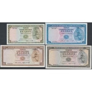 East Timor, 20 - 500 Escudos 1967 (4pcs)