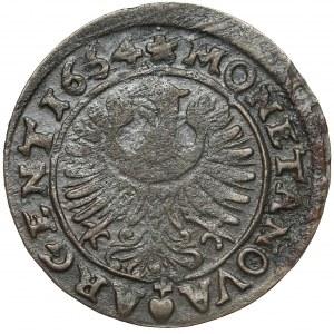 Śląsk, Chrystian wołowski, 3 krajcary 1664, Brzeg