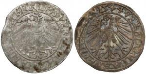 Śląsk, Fryderyk II, Grosz 1543 i 1544, Legnica (2szt)