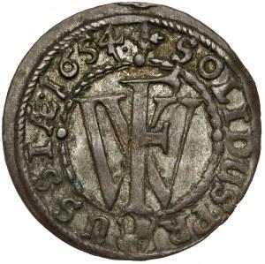 Prusy, Fryderyk Wilhelm, Szeląg Królewiec 1654