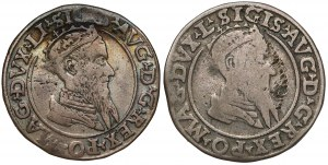 Czworaki Wilno Zygmunta II August 1568-1568 (2szt)