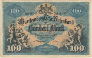 Niemcy, Stuttgart, 100 Mark 1911
