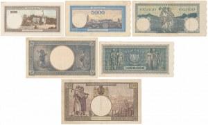 Rumunia, zestaw banknotów (6szt)