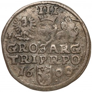 Zygmunt III Waza, Trojak Wschowa 1600 - F przy Orle