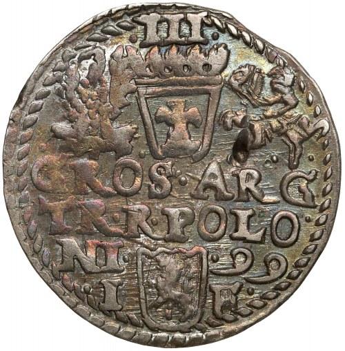 Zygmunt III Waza, Trojak Olkusz 1599 - BEZ R