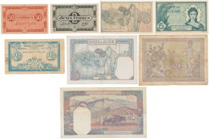 Algeria, set of banknotes (8pcs)