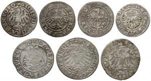 Zygmunt III Waza, zestaw szelągów, głównie Wilno i Ryga (9szt)