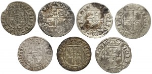 Półtoraki Zygmunta III Wazy - 1615-1625 (7szt)