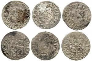 Półtoraki Zygmunta III Wazy - Bydgoszcz 1615 (6szt)