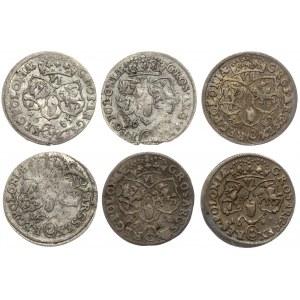 Szóstaki Jan III Sobieskiego - zestaw (6szt)
