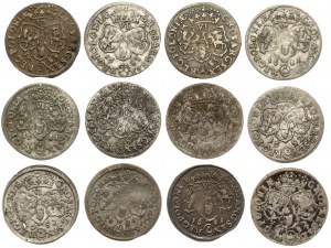 Szóstaki Jan III Sobieskiego - zestaw (12szt)