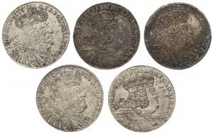 Orty Augusta III Sasa - zestaw (5szt)
