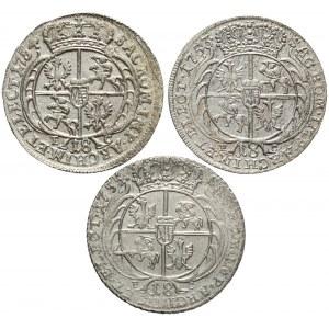 Orty Augusta III Sasa, efraimki - zestaw (3szt)