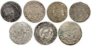 Szelągi litewskie Zygmunta III - zestaw (7szt)