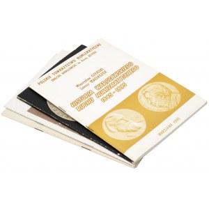 Zestaw broszurek numizmatycznych (4szt)