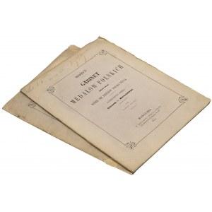 Gabinet Medalów Polskich oraz tych, które się dziejów Polski tyczą - dopełnienie dzieła Edwarda hr. Raczyńskiego, zeszyty 1-2, Beyer 1857