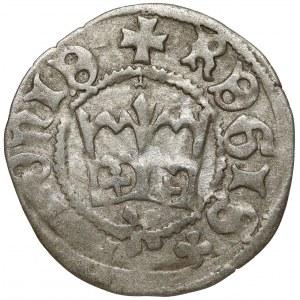 Kazimierz IV Jagiellończyk, Półgrosz Kraków - litery 'E' odwrócone