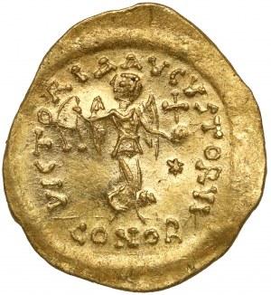 Justyn II (565-578 n.e.) Tremissis, Konstantynopol
