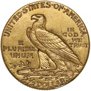 USA, 2-1/2 dolara 1925 - Indian Head, D-Denver
