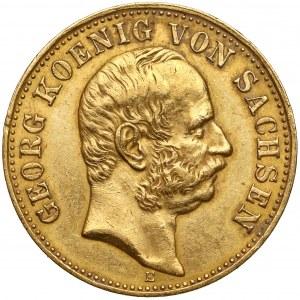 Sachsen, Georg Wettin, 10 mark 1903 E