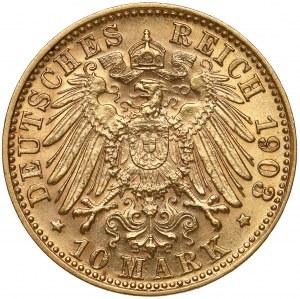 Bayern, Otto I. Wittelsbach, 10 mark 1903 D