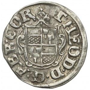 Corvey, Theodor von Beringhausen, 1/24 Taler 1607