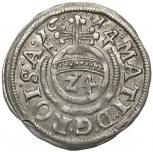 Halberstadt-Bistum, Christian von Braunschweig, 1/24 Taler 1614