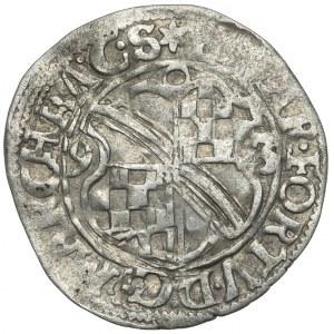 Baden, Eduard Fortunat, 1/2 Batzen 1593