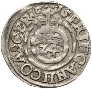 Anhalt, Johann Georg I., Christian I., August, Rudolf and Ludwig, 1/24 Taler 1615