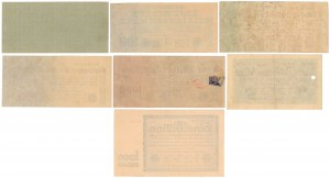 Germany, 50 mld mk - 2 bln mk 1923 (7pcs)
