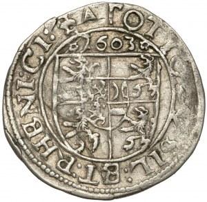 Salm-Kirburg, Otto, 3 Kreuzer 1603